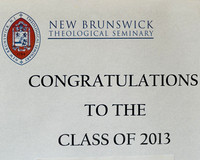 New Brunswick Theological Seminary (NBTS) 2013 Commencement